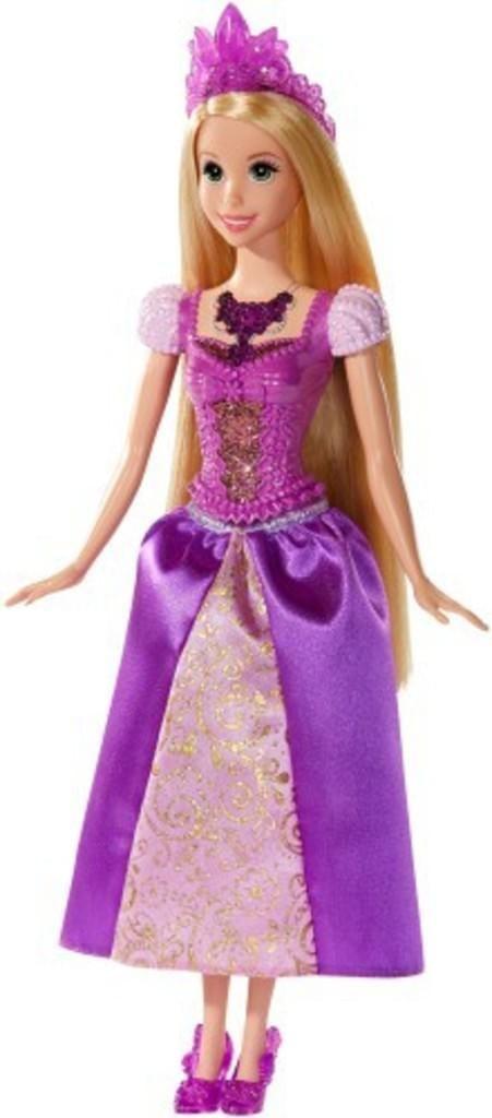 Mattel Disney princess - Luces mágicas Rapunzel