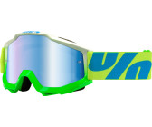 100% Strata Brille (verspiegelte Gläser) - Sonnenbrillen - Performance Neon Yellow - Mirror Einheitsgröße bwMsiRRY7