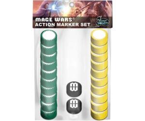 Image of Arcane Wonders Mage Wars - Action Marker Set
