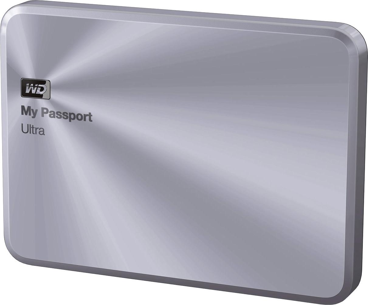 Western Digital My Passport Ultra Metal Edition 1 TB plateado