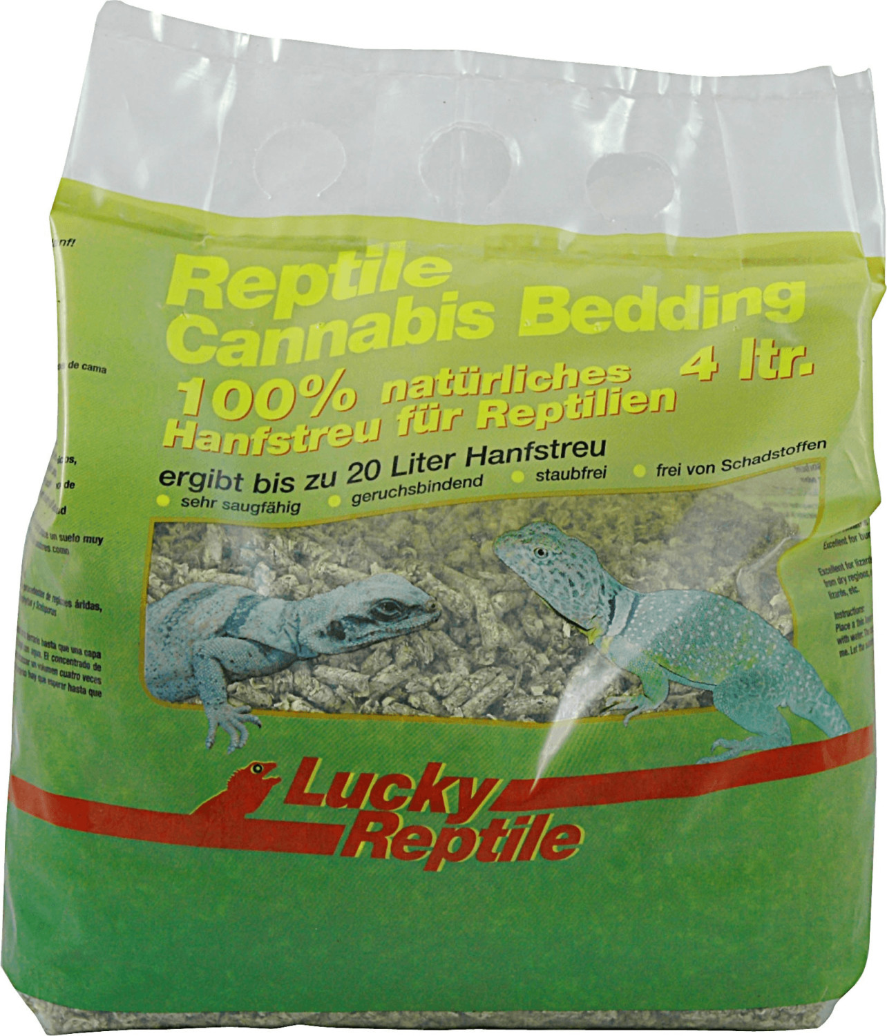 Lucky Reptile Cannabis Bedding 4 Liter