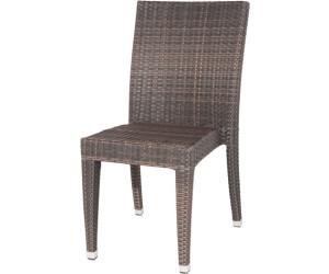 siena garden braga stapelstuhl polyrattan maron ab 80 00. Black Bedroom Furniture Sets. Home Design Ideas