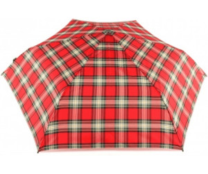 Image of Knirps Flat Duomatic red check