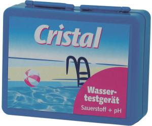 Cristal Wassertestgerät Sauerstoff + pH
