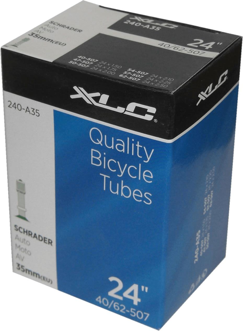 XLC Fahrradschlauch 24´´ mit Auto-Ventil (VT-A24)