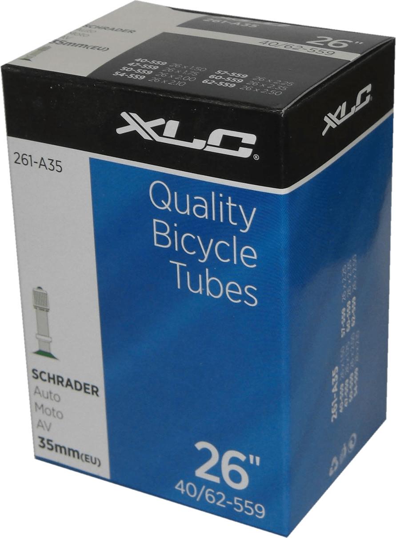 XLC Fahrradschlauch 26 x 1.0/1.5 25/40-559 AV 35 mm