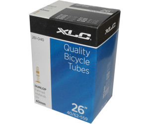 XLC Fahrradschlauch 26 x 1.5/2.5 40/62-559 DV 40 mm