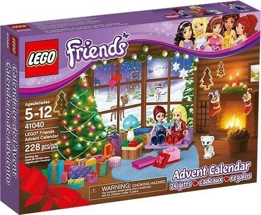 LEGO Calendrier de l'Avent Friends 2014 (41040)