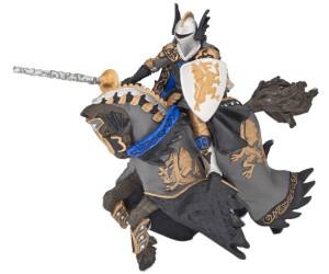 Papo Schwarzer Drachenprinz und Pferd (36001)