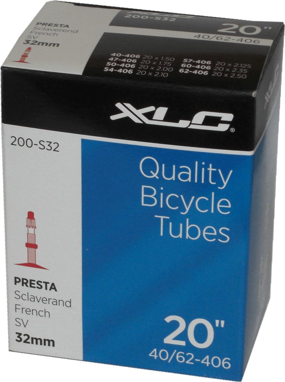 XLC Fahrradschlauch 20´´ mit Sclaverand-Ventil (VT-S20)