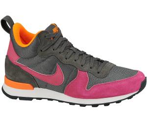 Nike Internationalist Mid Leder Schuhe Damen Bordeaux Bordeaux