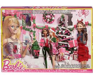 Calendrier Avent Barbie.Mattel Calendrier De L Avent Barbie 2014 Au Meilleur Prix