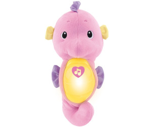 Image of Fisher-Price Soothe & Glow Seahorse pink