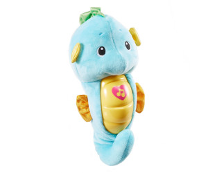 Image of Fisher-Price Soothe & Glow Seahorse blue
