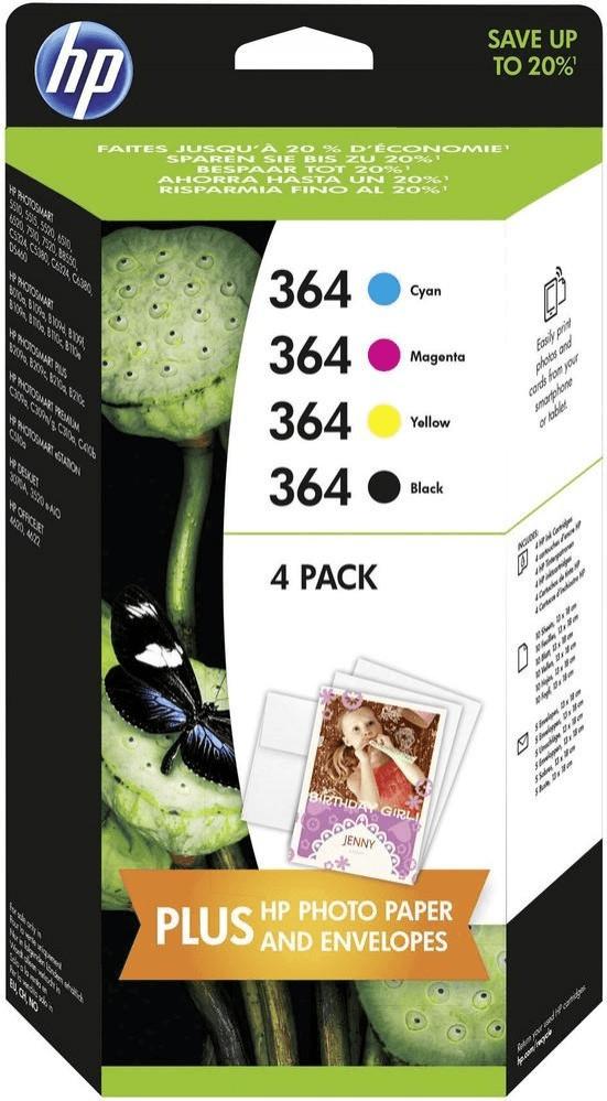 Hewlett-Packard HP Nr. 364 Combo Content Pack 4...