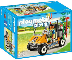 Playmobil Zookeepers Cart Building Kit (6636)