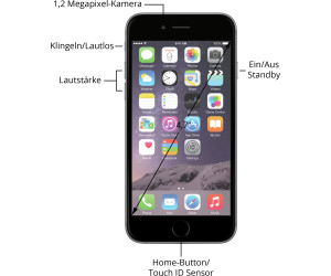 apple iphone 6 ab 289 00 preisvergleich bei. Black Bedroom Furniture Sets. Home Design Ideas