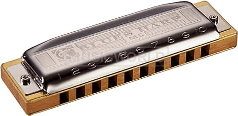 Image of Hohner Blues Harp MS D
