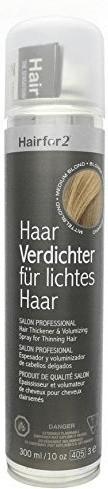 Hairfor2 HaarVerdichter für lichtes Haar - Mittelblond (300ml)