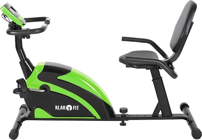 Klarfit Relaxbike 5G Liege-Ergometer Recumbent Bike