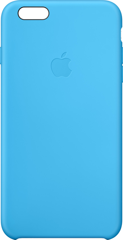 Apple Silikon Case Blau (iPhone 6 Plus)