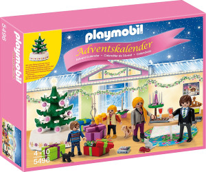 playmobil calendrier de l 39 avent r veillon de no l 5496 au meilleur prix sur. Black Bedroom Furniture Sets. Home Design Ideas