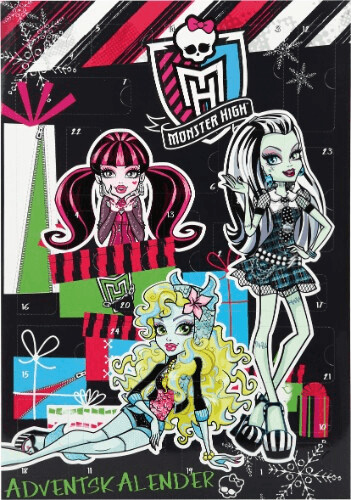 Undercover Monster High Adventskalender Schreib...