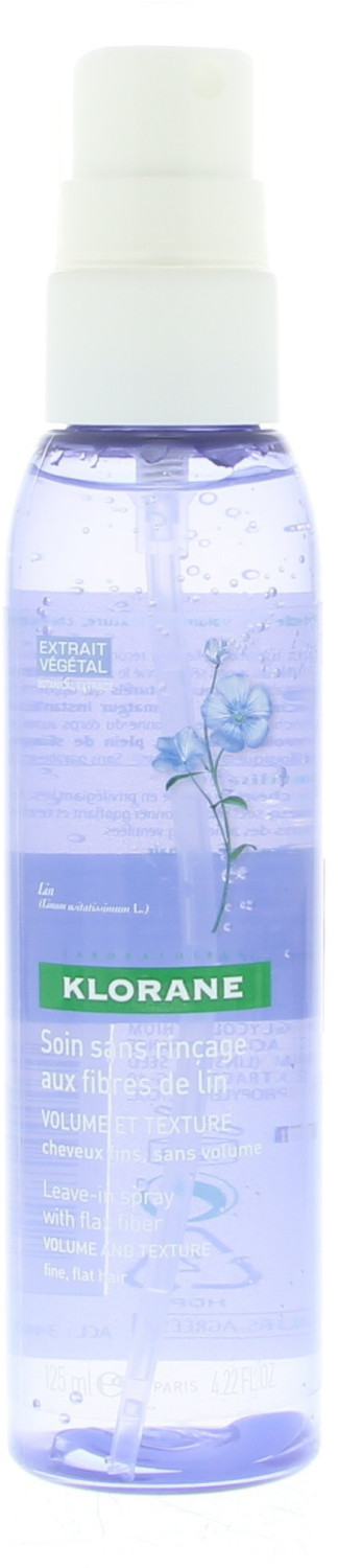 Klorane Leave-in spray with flax fiber (125ml)