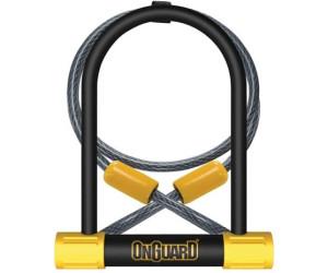 Onguard Bulldog DT 8012C Combo 115 X 230 X 13mm Bike Cycle D U Lock /& Cable