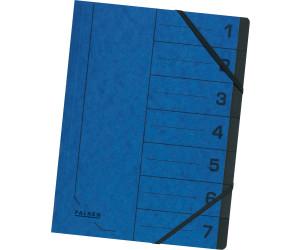 Ordnungsmappe für DIN A4 blau Falken 8040 Colorspan-Karton