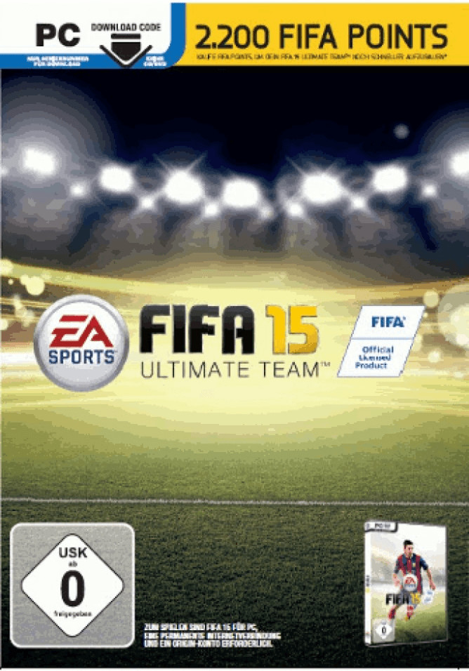 FIFA 15: 2200 FIFA Ultimate Team Punkte (Add-On...