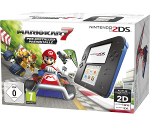 Nintendo 2DS black-blue + Mario Kart 7