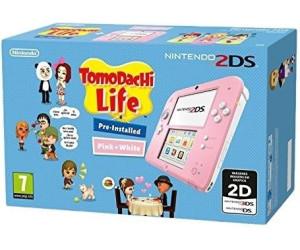 Nintendo 2DS pink-white + Tomodachi Life