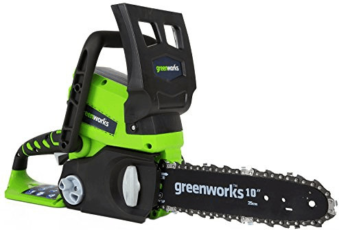 Greenworks Sierra de cadena a batería 25 cm 24V (2000007)