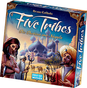 Days of Wonder Five Tribes - Die Dschinn von Na...