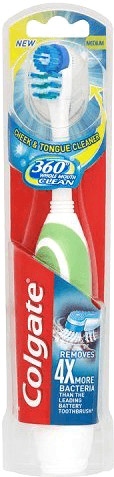 Image of Colgate 360 Clean Battery Toothbrush