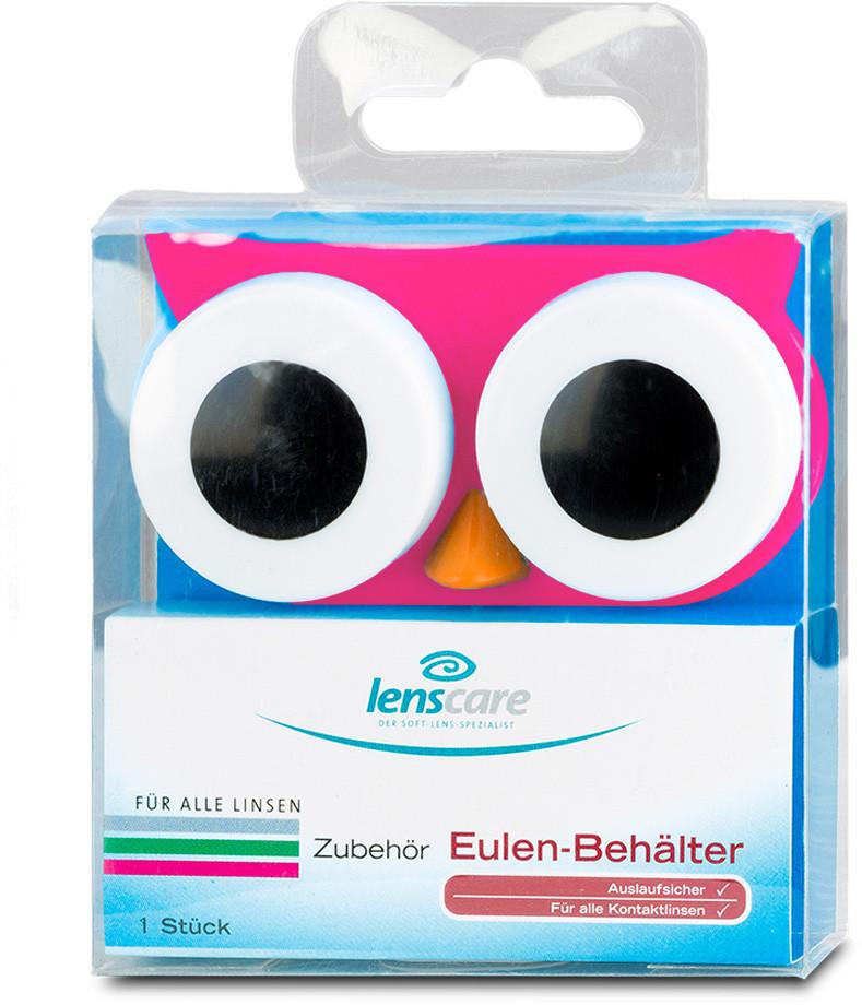 Lenscare Behälter Eule (1 Stk.)
