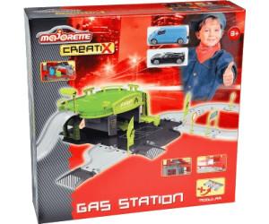 Majorette Creatix Petrol Station mit Auto Tankstelle Spielzeug Fahrzeug Garage Spielzeugautos