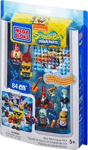MEGA BLOKS SpongeBob Schwammkopf - Rock-Band Fi...