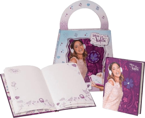 Giochi Preziosi Disney Violetta Tagebuch mit Licht