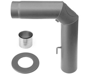Senotherm MULDENTHALER Ofenrohr /ø 120 mm Gussgrau Rauchrohr 30/° Bogen