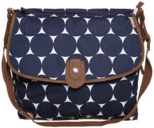 Babymel Satchel - Jumbo Dot Navy