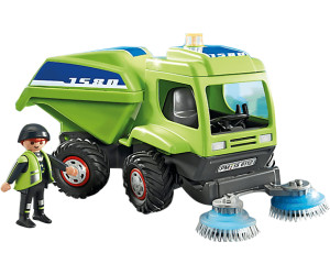 Playmobil Worker With Sweeper (6112)