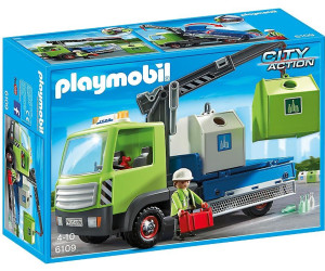 Playmobil City Action LKW Glascontainer Playmobil