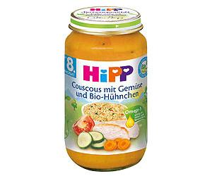Hipp Couscous mit Gemüse und Bio-Hühnchen (220 g)
