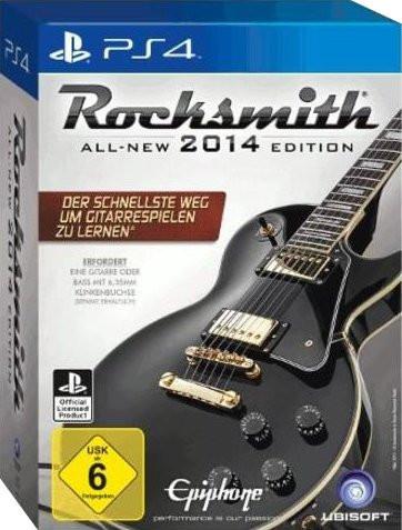 Rocksmith 2014 + Real Tone Kabel (PS4)