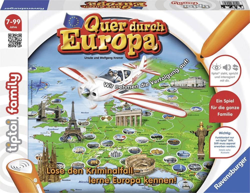 Ravensburger tiptoi Quer durch Europa