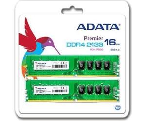 Image of Adata 16GB Kit DDR4-2133 CL15 (AD4U2133W8G15-2)