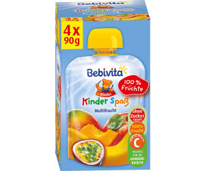 Bebivita Kinder Spaß Multifrucht (4 x 90 g)