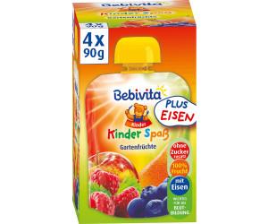 Bebivita Kinder Spaß Gartenfrüchte (4 x 90 g)